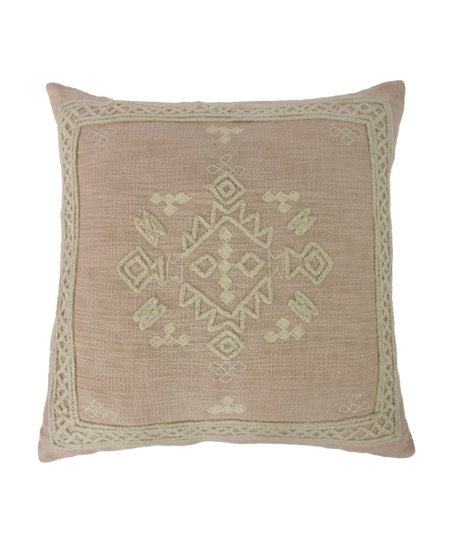 Image for Tahoe 55X55 Poly Cushion Blush