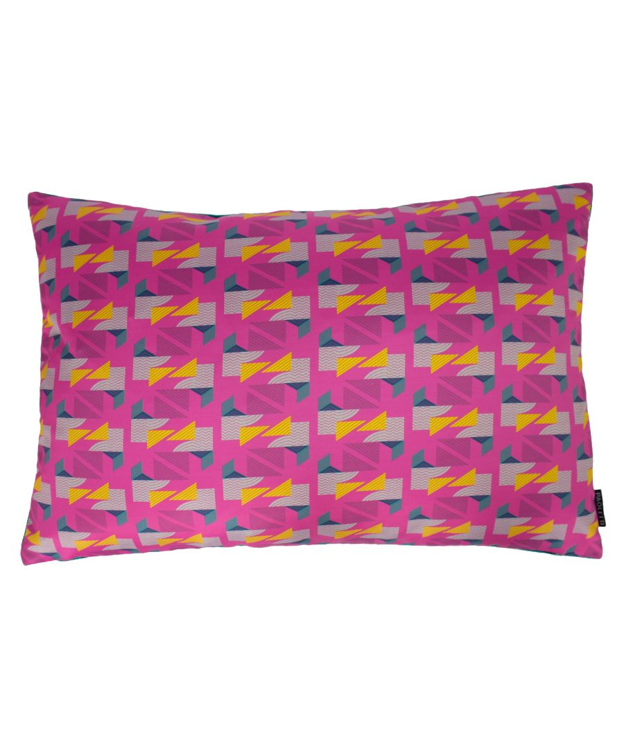 Image for Vienna 40X60 Poly Cushion Fuchsia