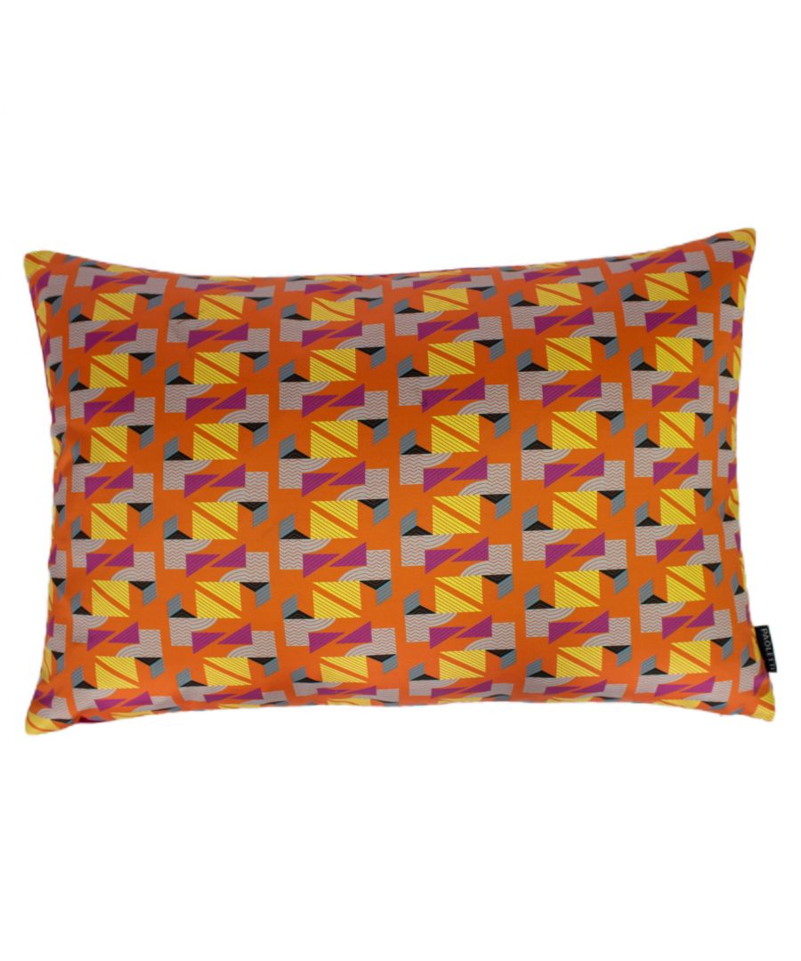 Image for Vienna 40X60 Poly Cushion Orange