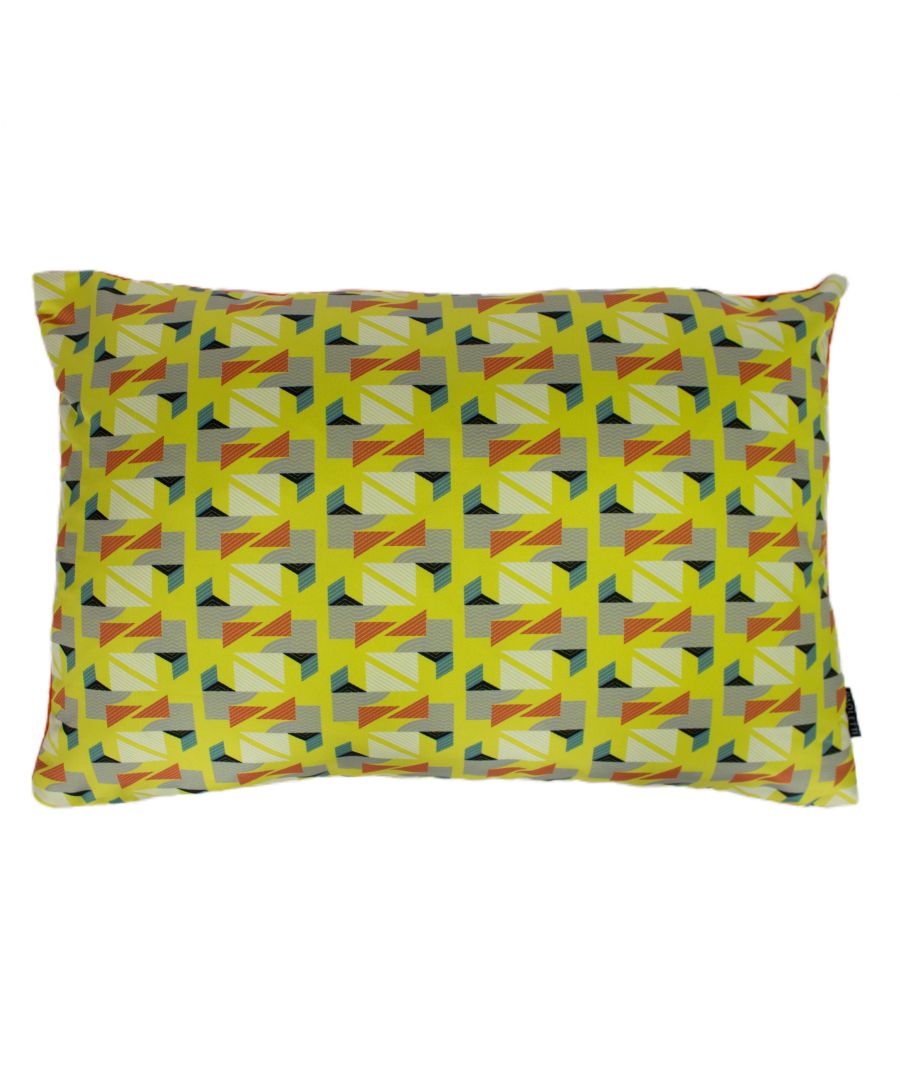 Image for Vienna 40X60 Poly Cushion Yellow
