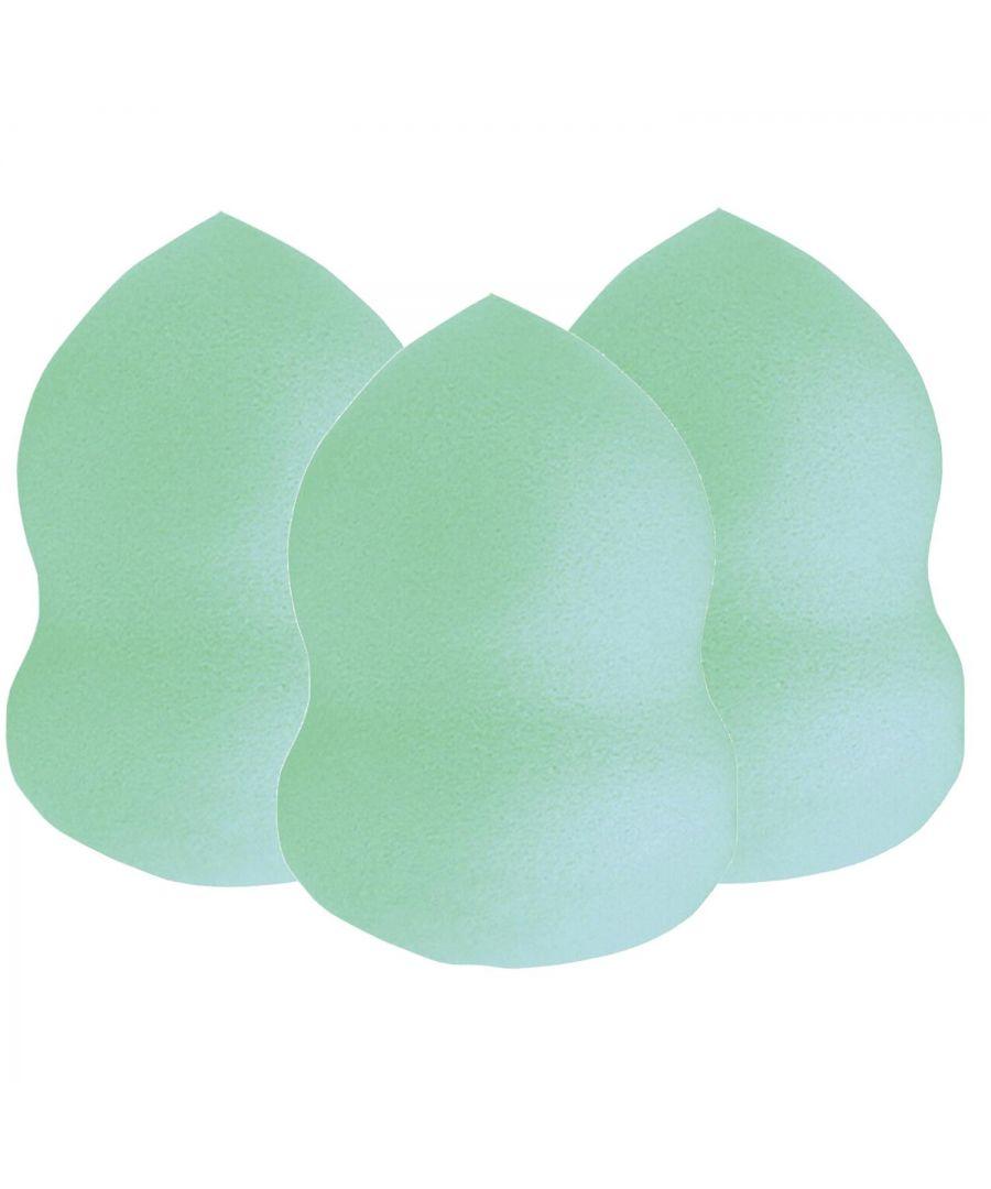 Image for Envie Flatbottom Highlighting & Contouring Sponge Aqua x3