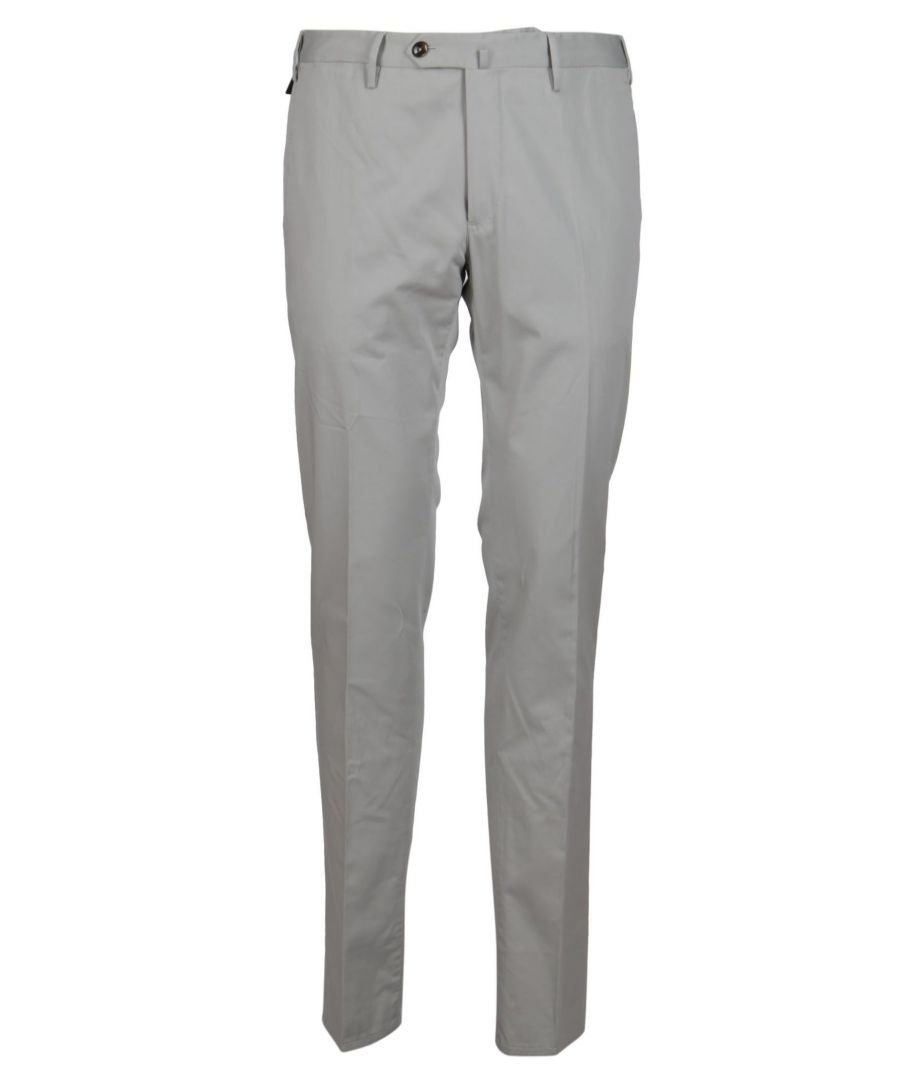 Image for PT01 MEN'S CODL01Z00CL3BB140210 GREY COTTON PANTS