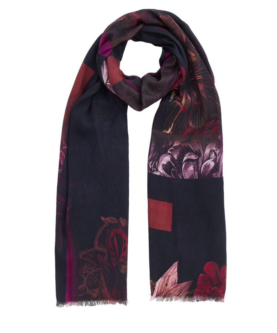 Image for Cape Floral Modal Scarf