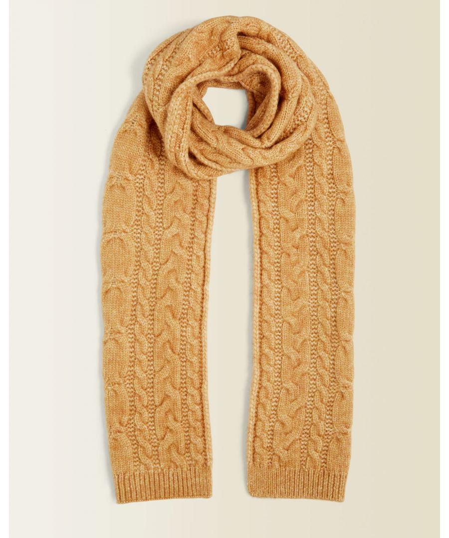 Image for Cosy Cable Knit Scarf