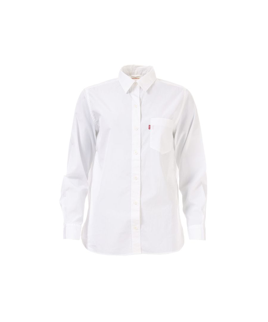 Image for Women's Levis The Utimate Boyfriend Shirt in White