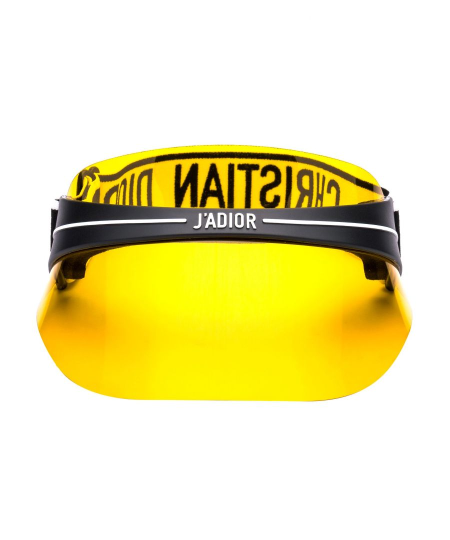 Image for DIOR MEN'S DIORCLUB1OTL04 YELLOW ACETATE HAT
