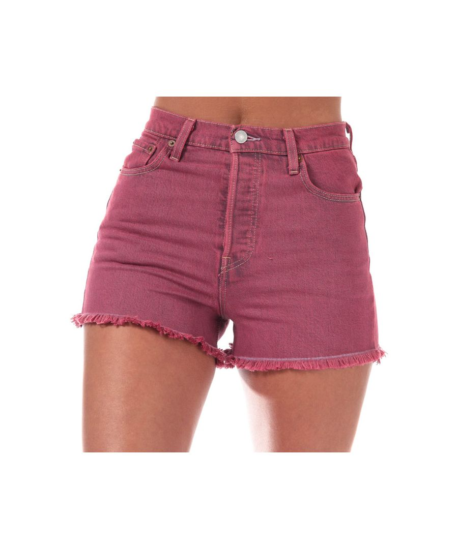 Image for Women's Levis Ribcage Shorts in Pink