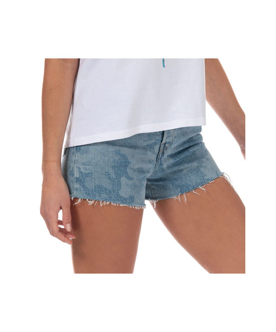 Image for Women's Levis Ribcage Shorts in Denim