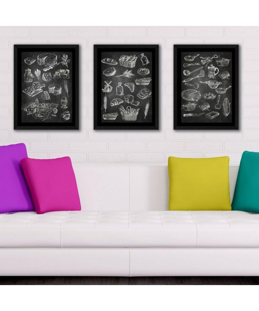 Image for Framed Art Cooking and baking Framed Photo, Framed Art