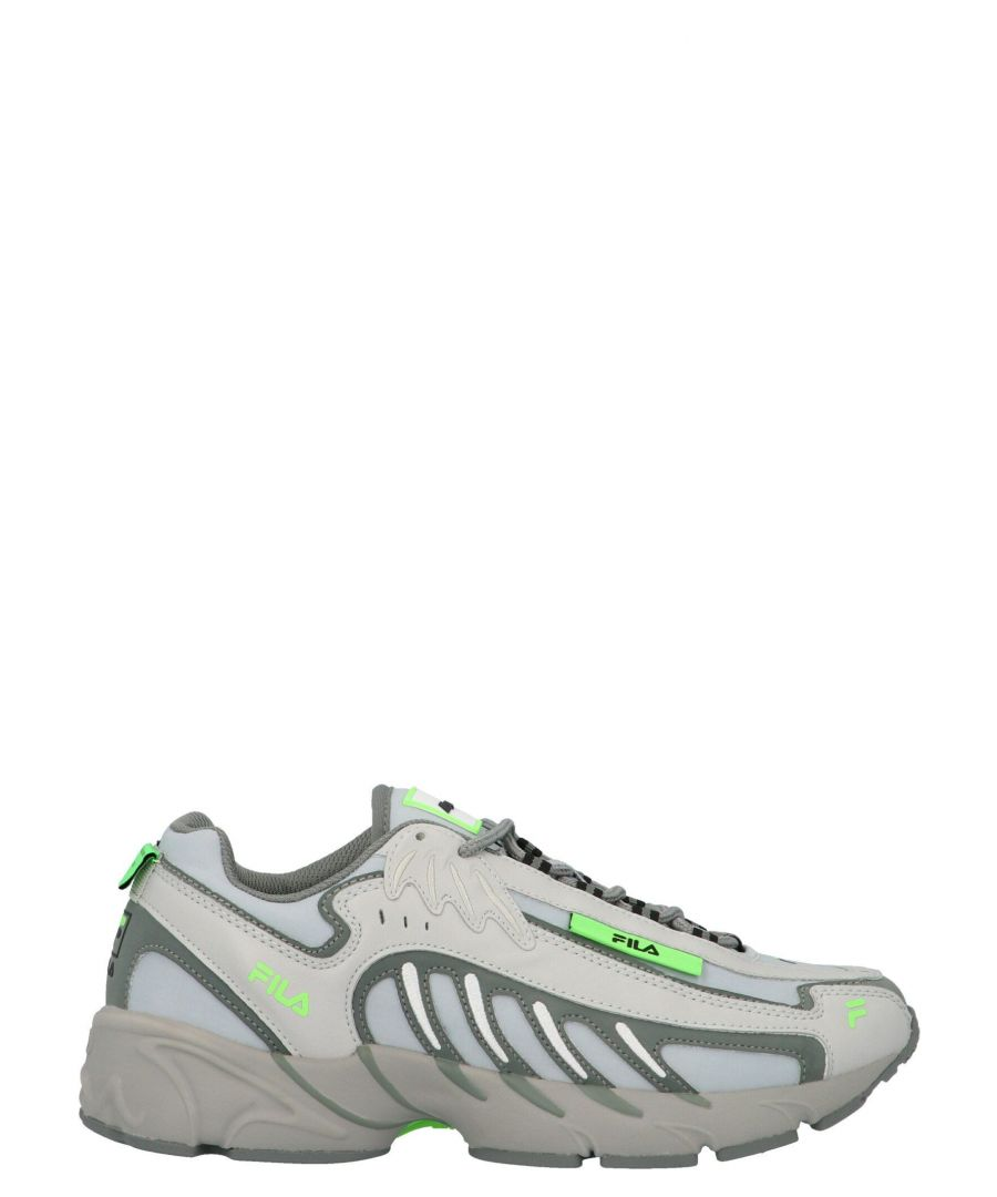 Image for MSGM MEN'S 2840MS0126F29996 GREY POLYESTER SNEAKERS