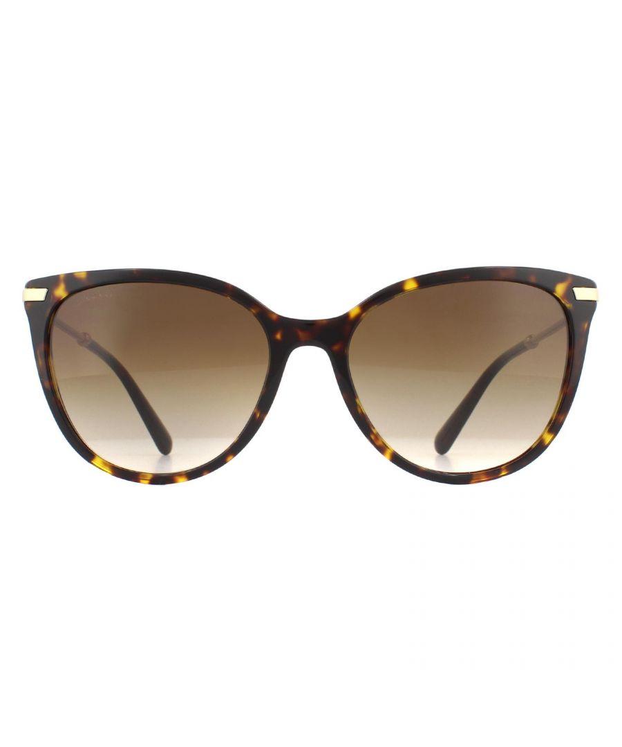 Image for Bvlgari Sunglasses BV8206 504/13  Havana Gold Brown Gradient