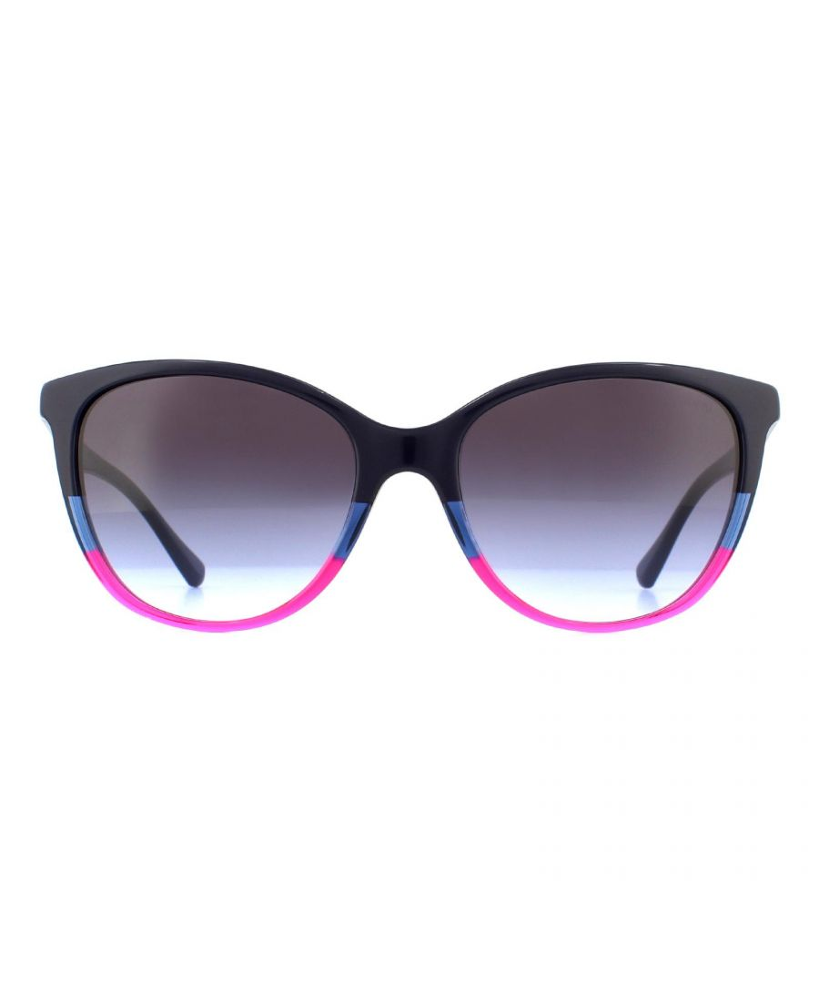 Image for Emporio Armani Sunglasses EA4110 56334Q Violet Red Violet Gray Gradient