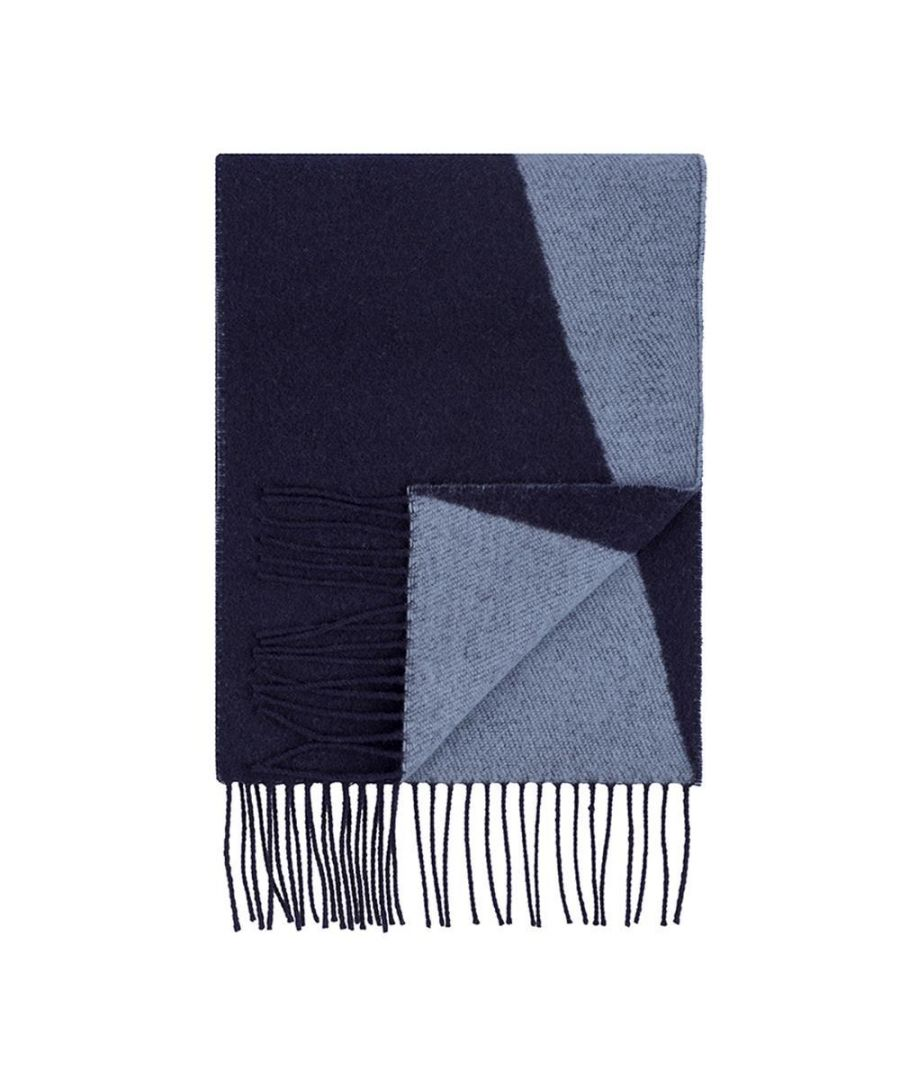 Image for Men's Hackett, Number Scarf in Navy & Blue