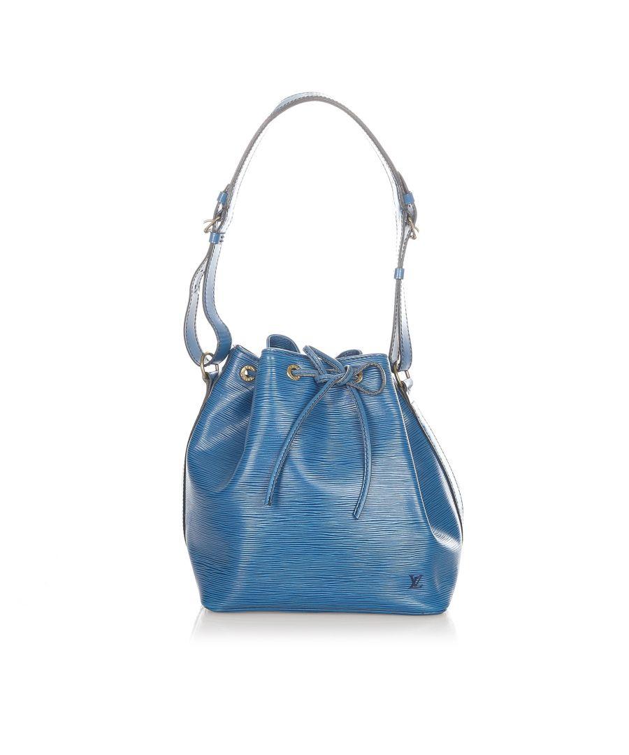 Image for Vintage Louis Vuitton Epi Petit Noe Blue