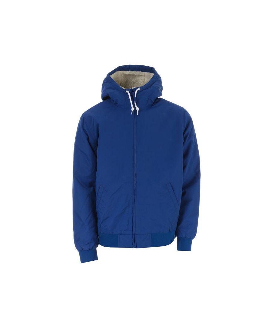 Image for Men's Levis Sherpa Bomber Jacket in Blue