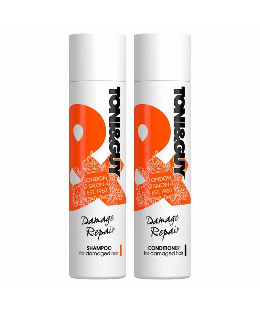 Image for Toni & Guy Damage Repair Shampoo & Conditioner 250ml