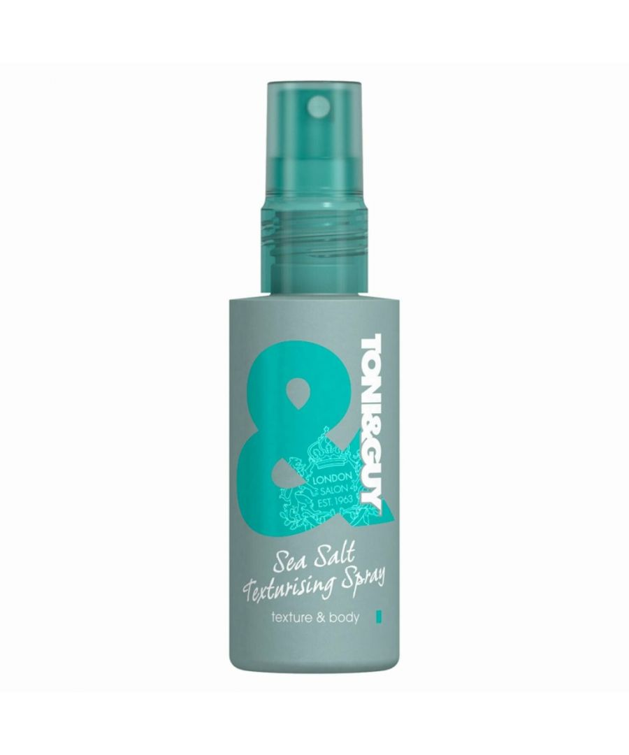 Image for Toni & Guy Sea Salt Texturising Spray 75ml