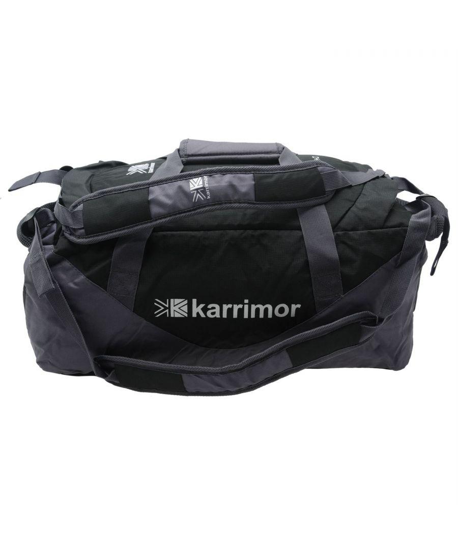 Image for Karrimor Cargo 40L Bag Adjustable Shoulder Straps Padded Carry Handle Zipped