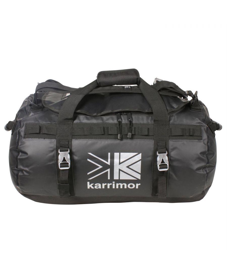Image for Karrimor 70L Dufflebag Adjustable Shoulder Straps Padded Carry Handle Zipped