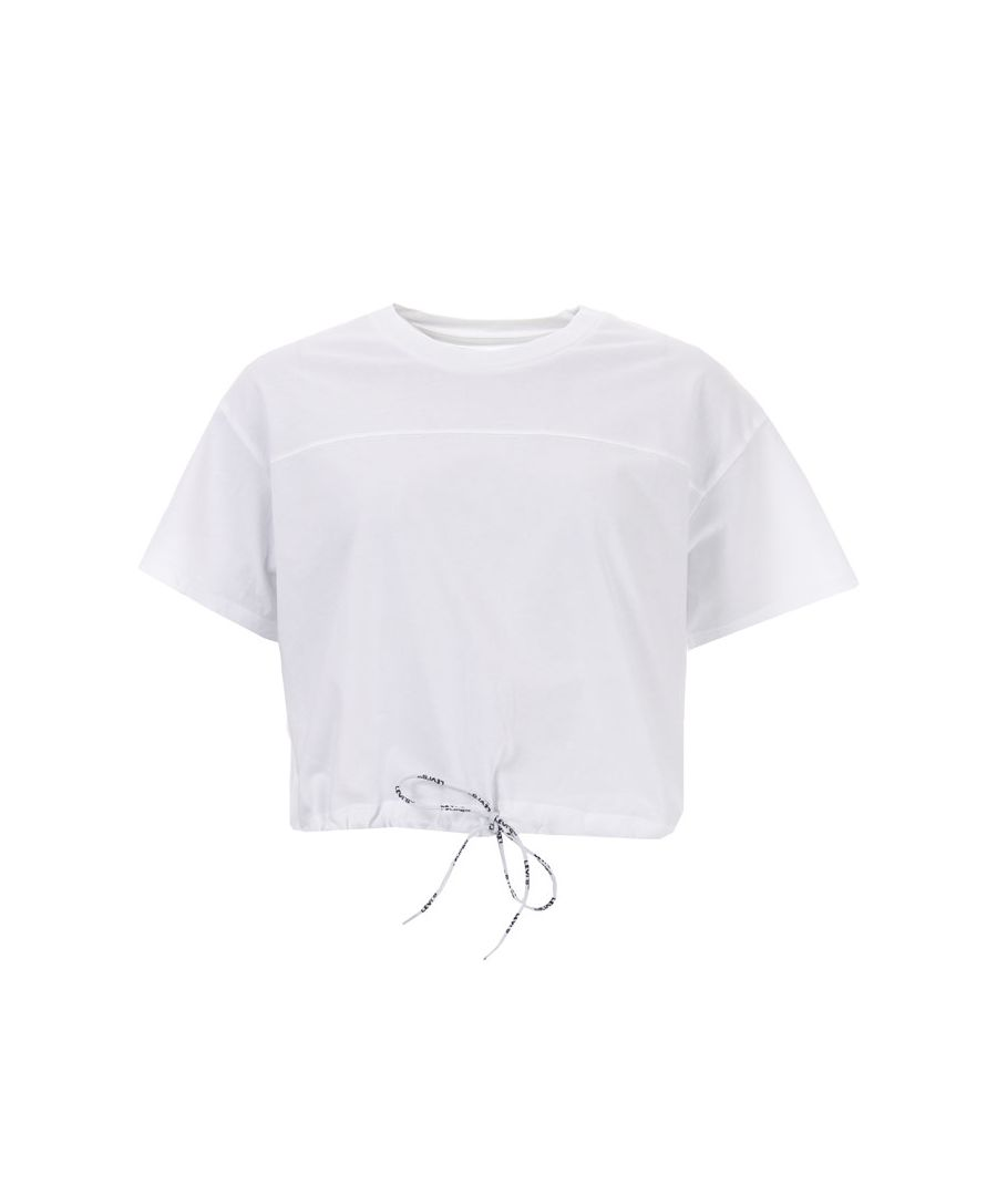 Image for Women's Levis Drawstring T-Shirt in White