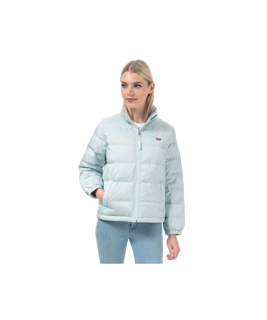 Image for Women's Levis Francine Down Packable Jacket in Light Blue