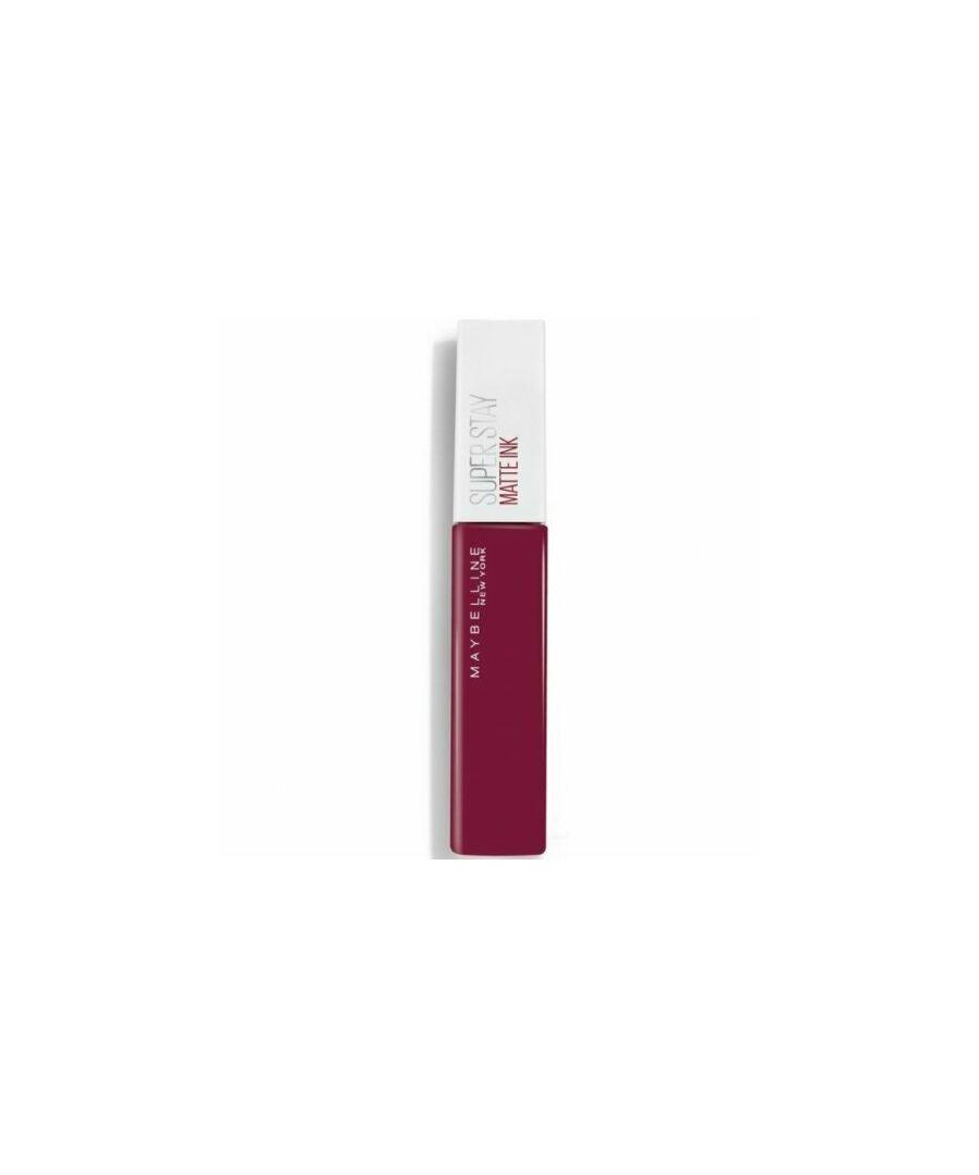 Image for Maybelline New York Superstay Matte Ink Liquid Lipstick - 112 Composer