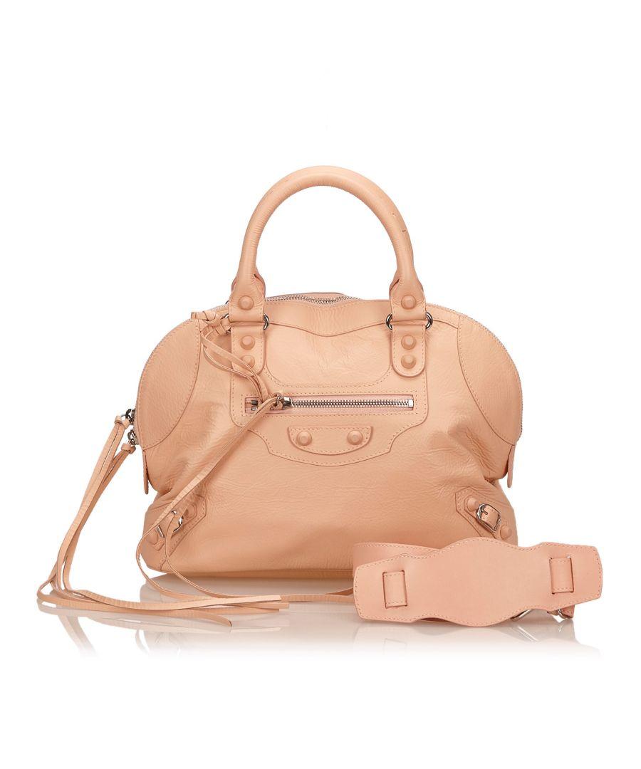 Image for Balenciaga Classic Bowling Bag Pink