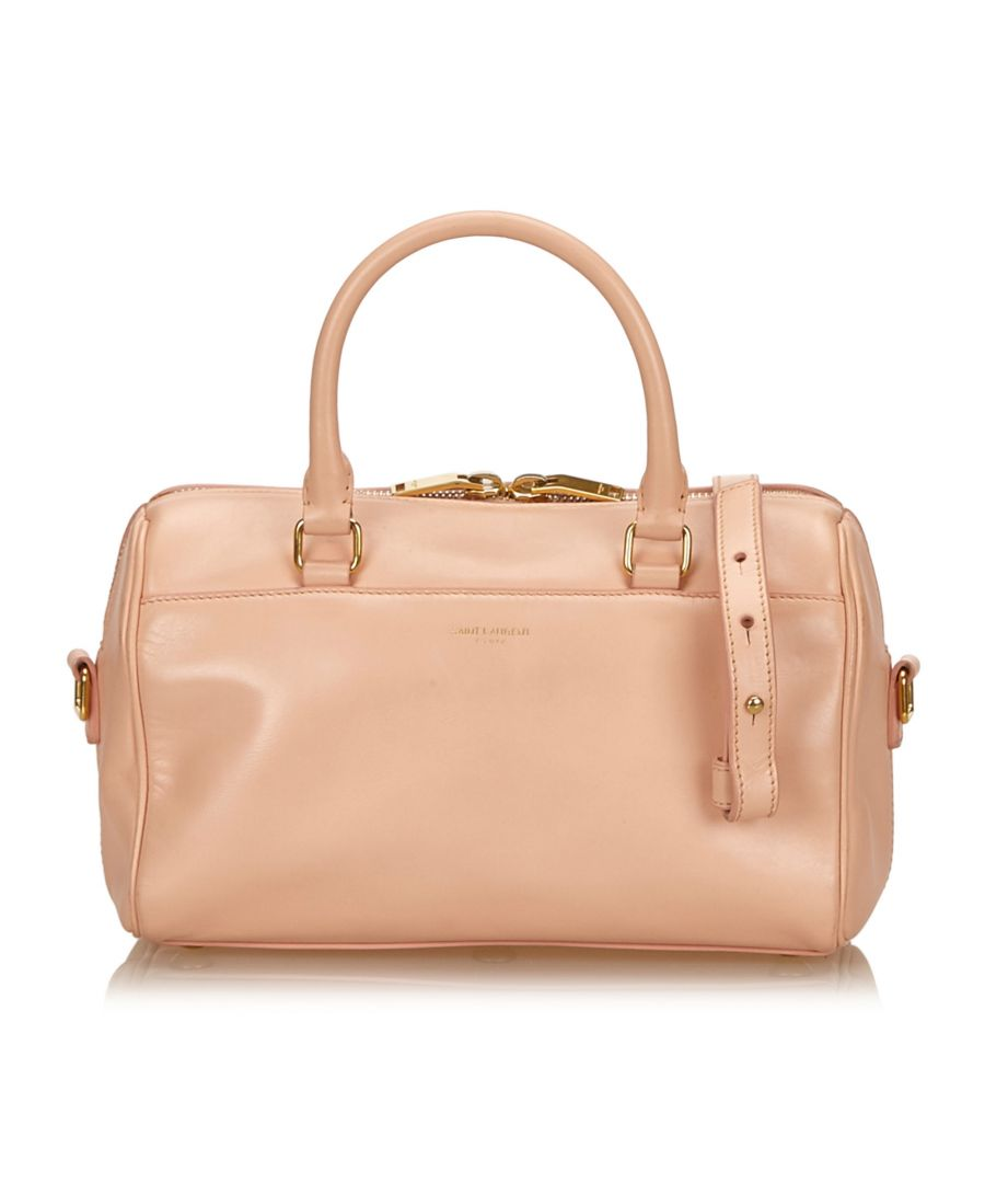 Image for Vintage YSL Classic Baby Duffle Bag Pink