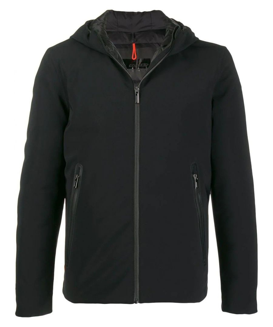 Image for RRD MEN'S W1900110 BLACK POLYESTER OUTERWEAR JACKET