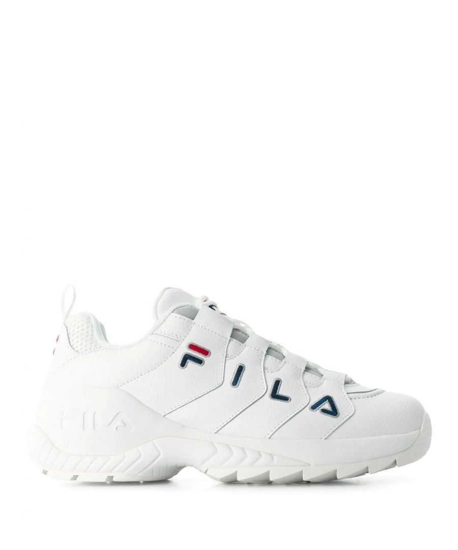 Image for FILA  MEN'S 10107091FG WHITE LEATHER SNEAKERS
