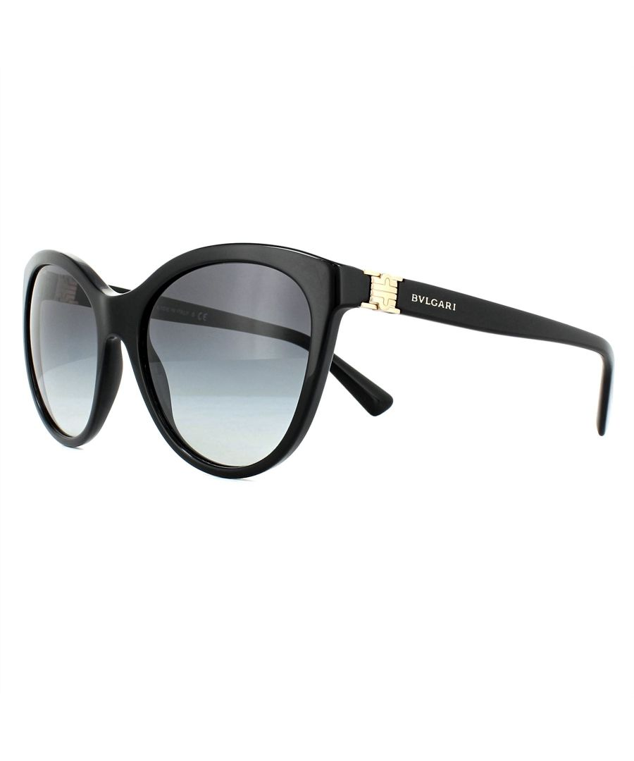 Image for Bvlgari Sunglasses 8197 501/8G Black Grey Gradient