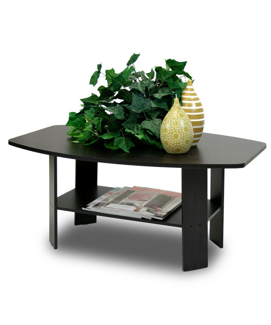 Image for Furinno Simple Design Coffee Table - Espresso