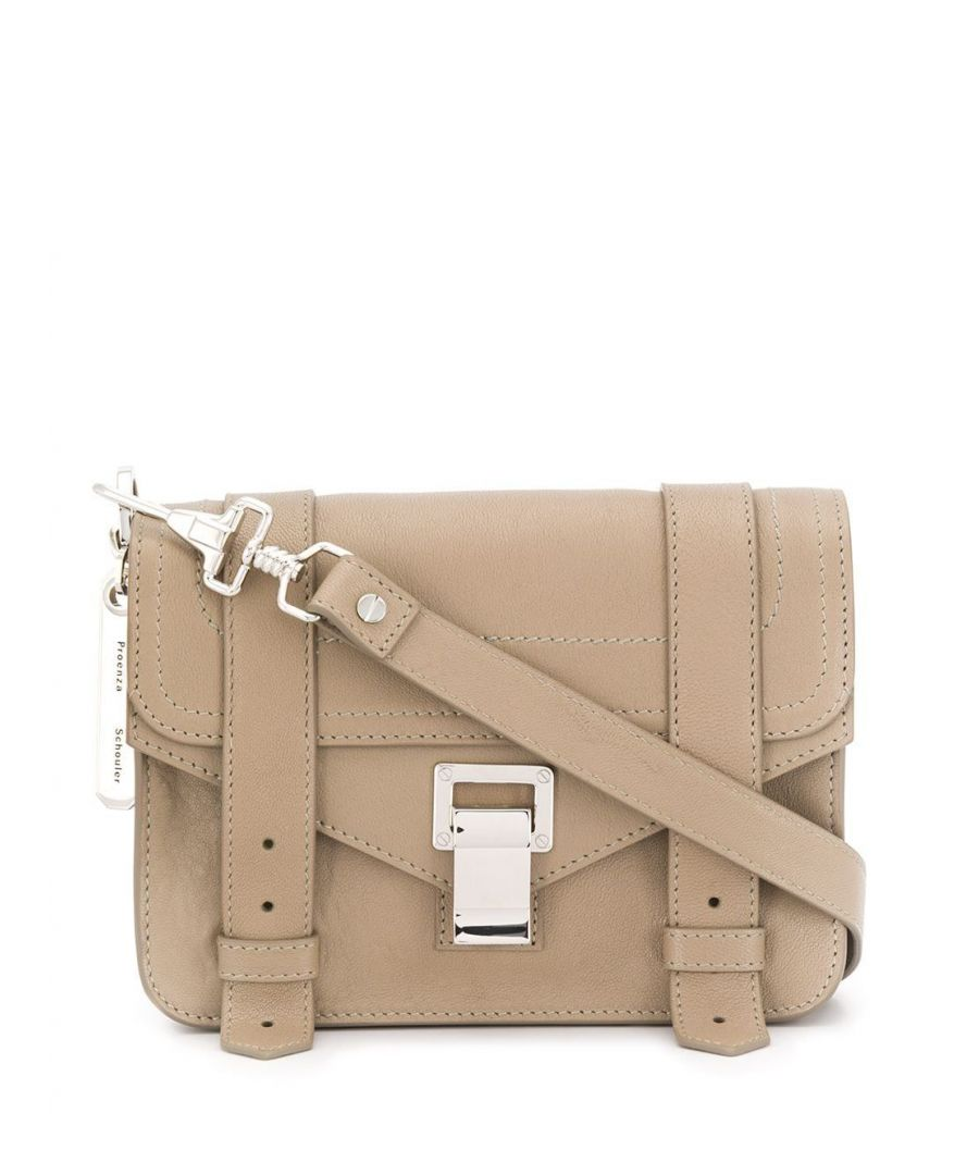 Image for PROENZA SCHOULER WOMEN'S H003382078 BEIGE LEATHER SHOULDER BAG