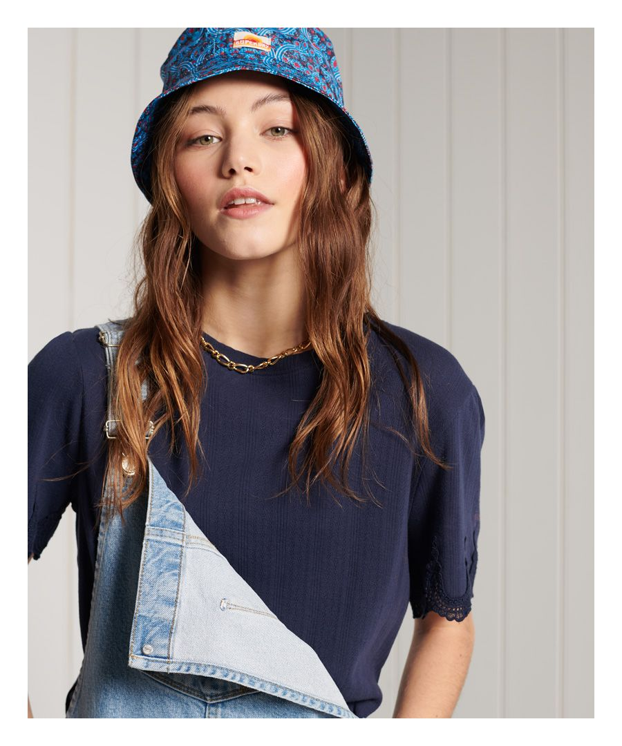 Image for Superdry Embroidered Sleeve T-Shirt