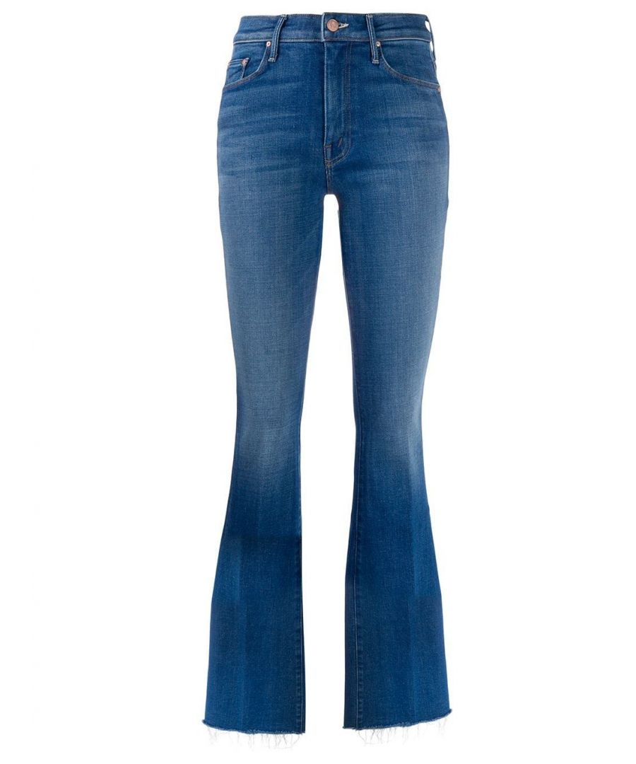 Image for MOTHER WOMEN'S 1535775DBV BLUE COTTON JEANS