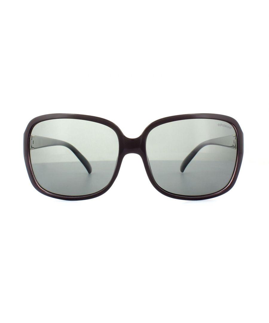 Image for Polaroid Sunglasses 5006/S PUT AH Plum Lilac Grey Polarized