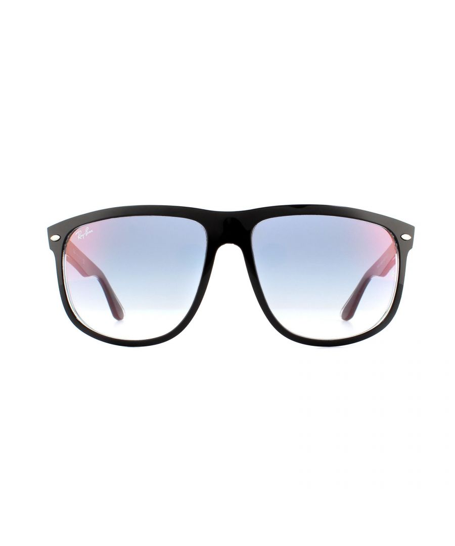Image for Ray-Ban Sunglasses 4147 6039X0 Transparent Black Blue Gradient Mirror 60mm
