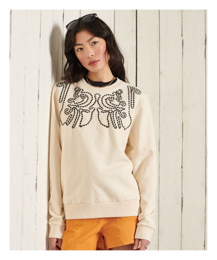 Image for Superdry Bohemian Crafted Sweatshirt