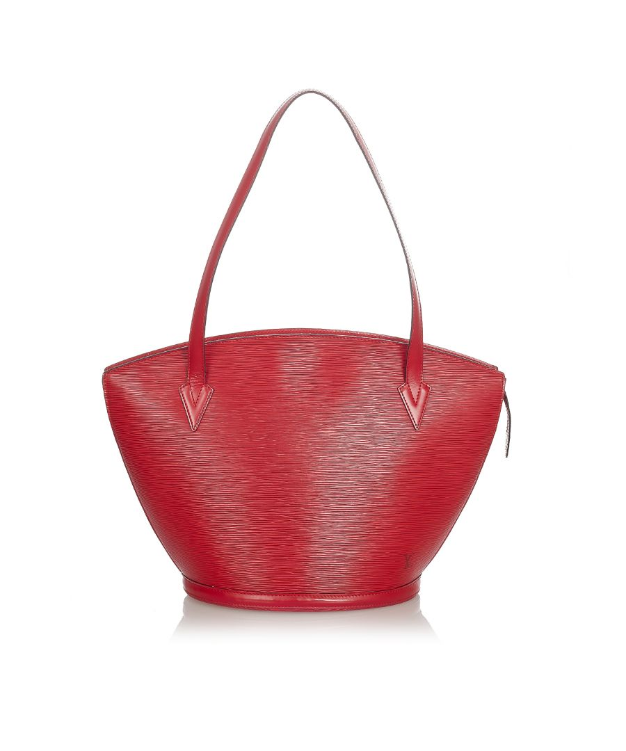 Image for Vintage Louis Vuitton Epi Saint Jacques PM Long Strap Red