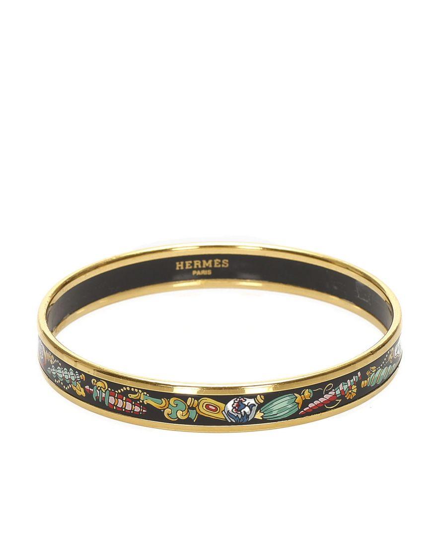 Image for Vintage Hermes Cloisonne Bangle Multi