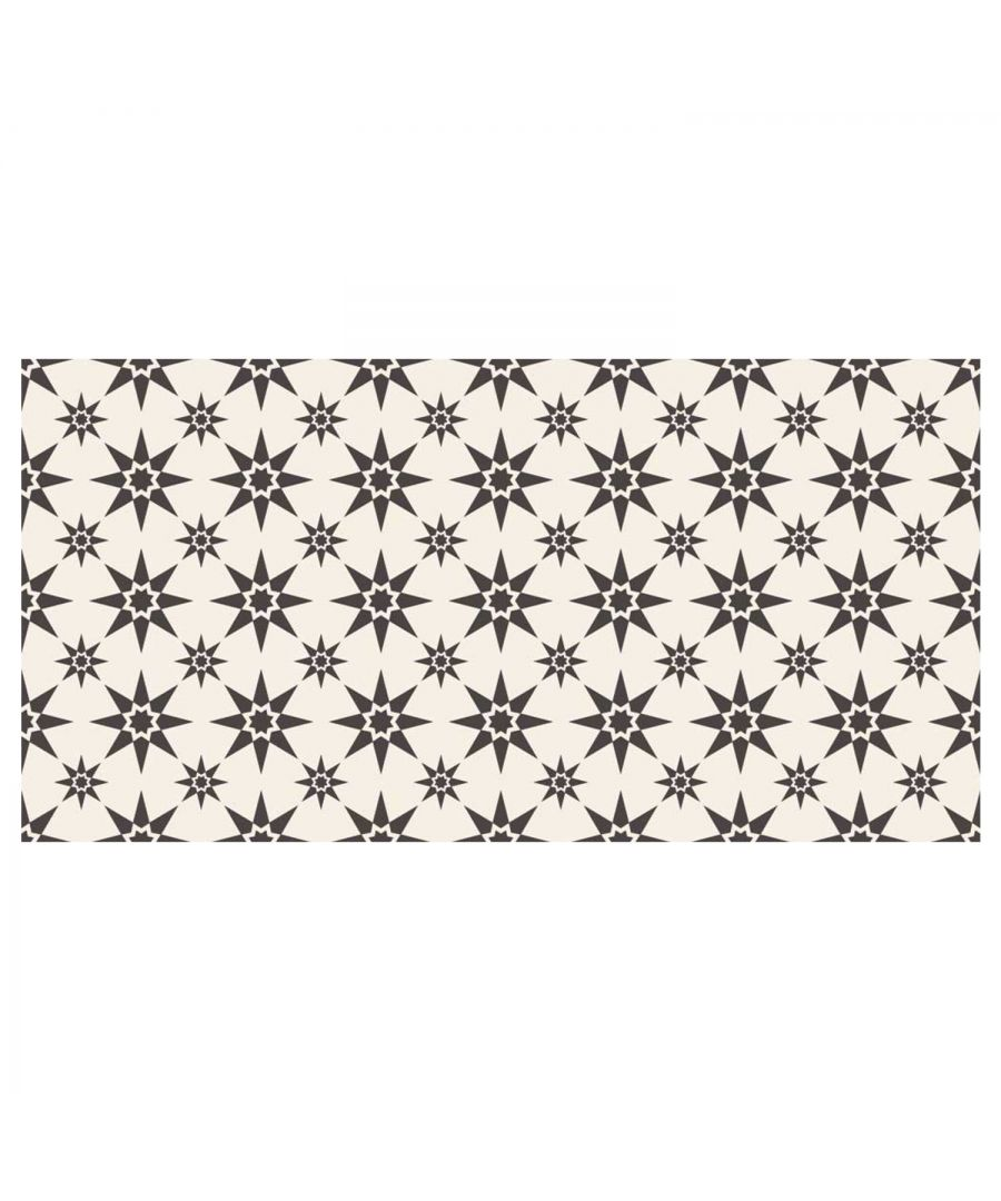 Image for WFM6122 - Alabaster and Pebble Granada Heritage Tiles Rug Mat 120cm x 60 cm