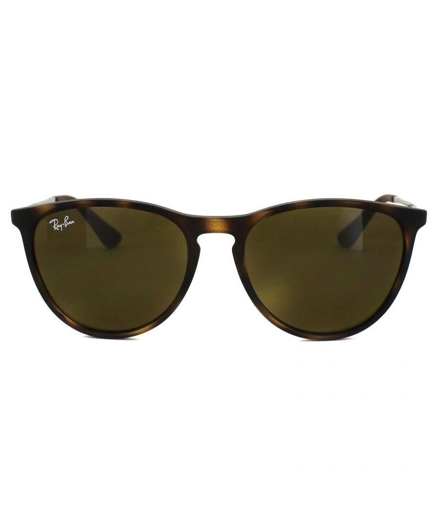 Image for Ray-Ban Junior Sunglasses Izzy 9060 700673 Rubber Havana Brown