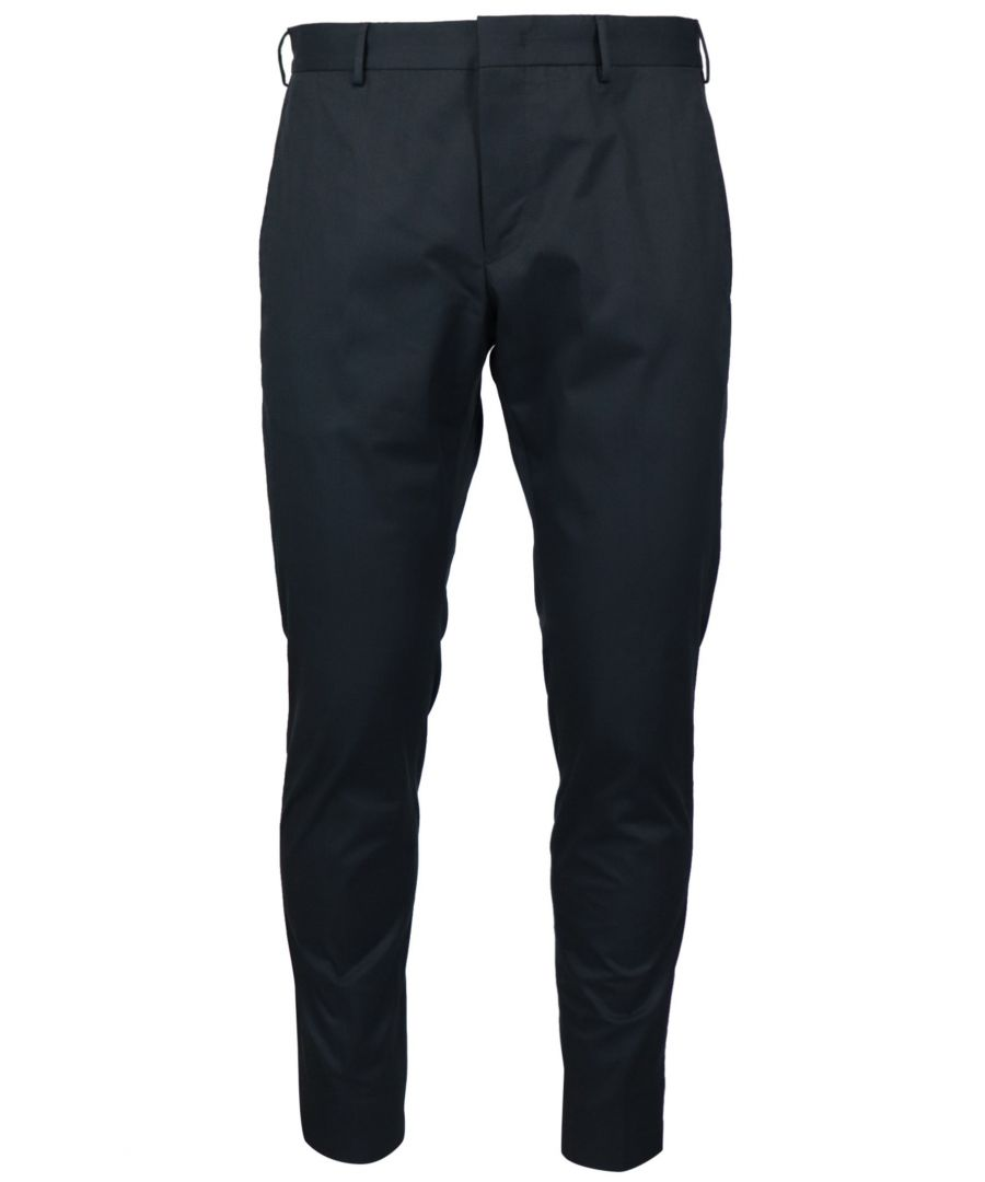 Image for PT01 MEN'S COASEPZE0KLTMP45360 BLUE COTTON PANTS