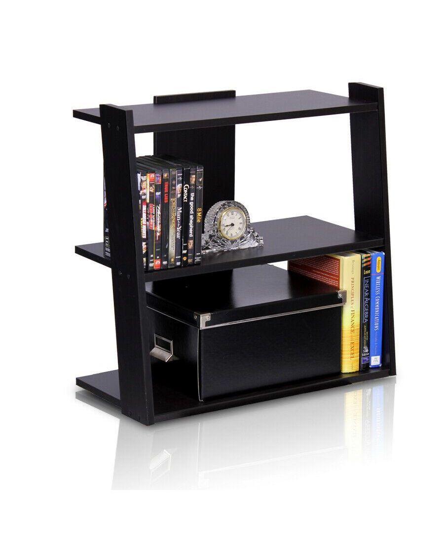 Image for Furinno Hidup Tropika Mini Ladder Shelf - Espresso