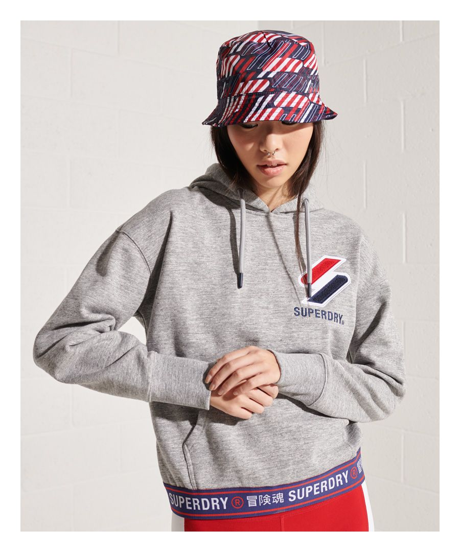 Image for Superdry Sportstyle Chenille Hoodie