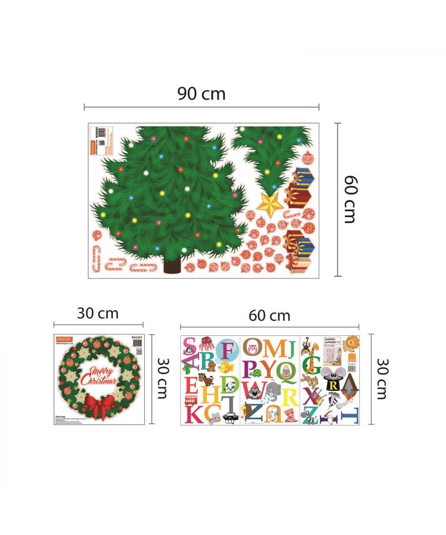 Image for WFXC8312 - COM - WS9064 + WS3012 + WS2307 - Learn the ABC  - Traditional Christmas Tree