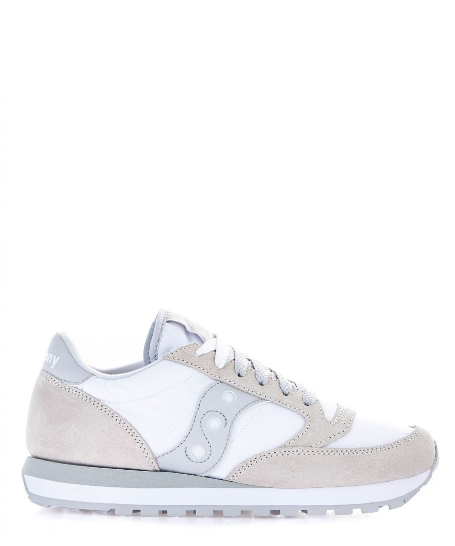 Image for SAUCONY WOMEN'S 2044396 WHITE SUEDE SNEAKERS