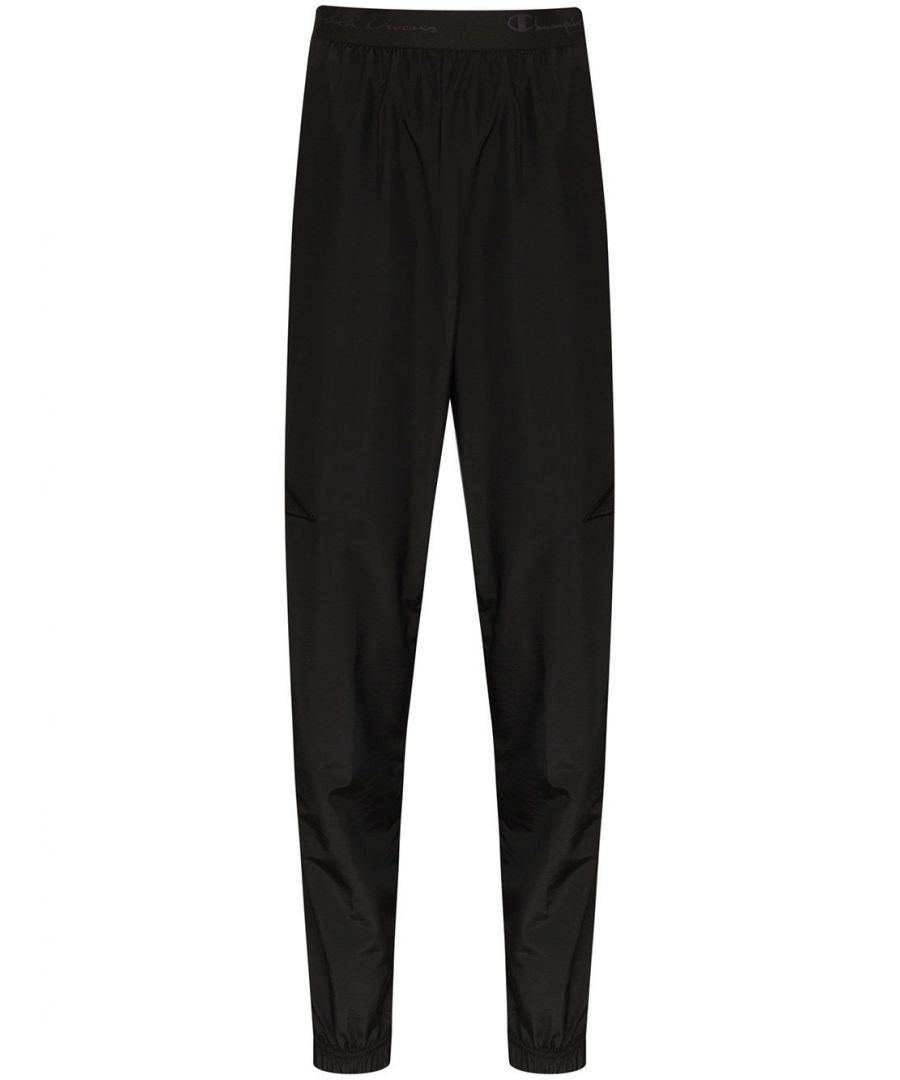 Image for RICK OWENS WOMEN'S CW20S00289 BLACK POLYAMIDE PANTS