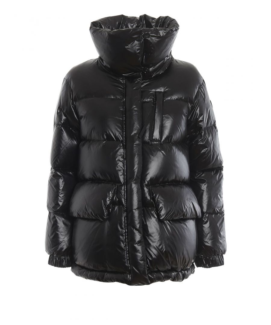 Image for WOOLRICH WOMEN'S WWCPS2786UT1702100 BLACK POLYAMIDE DOWN JACKET