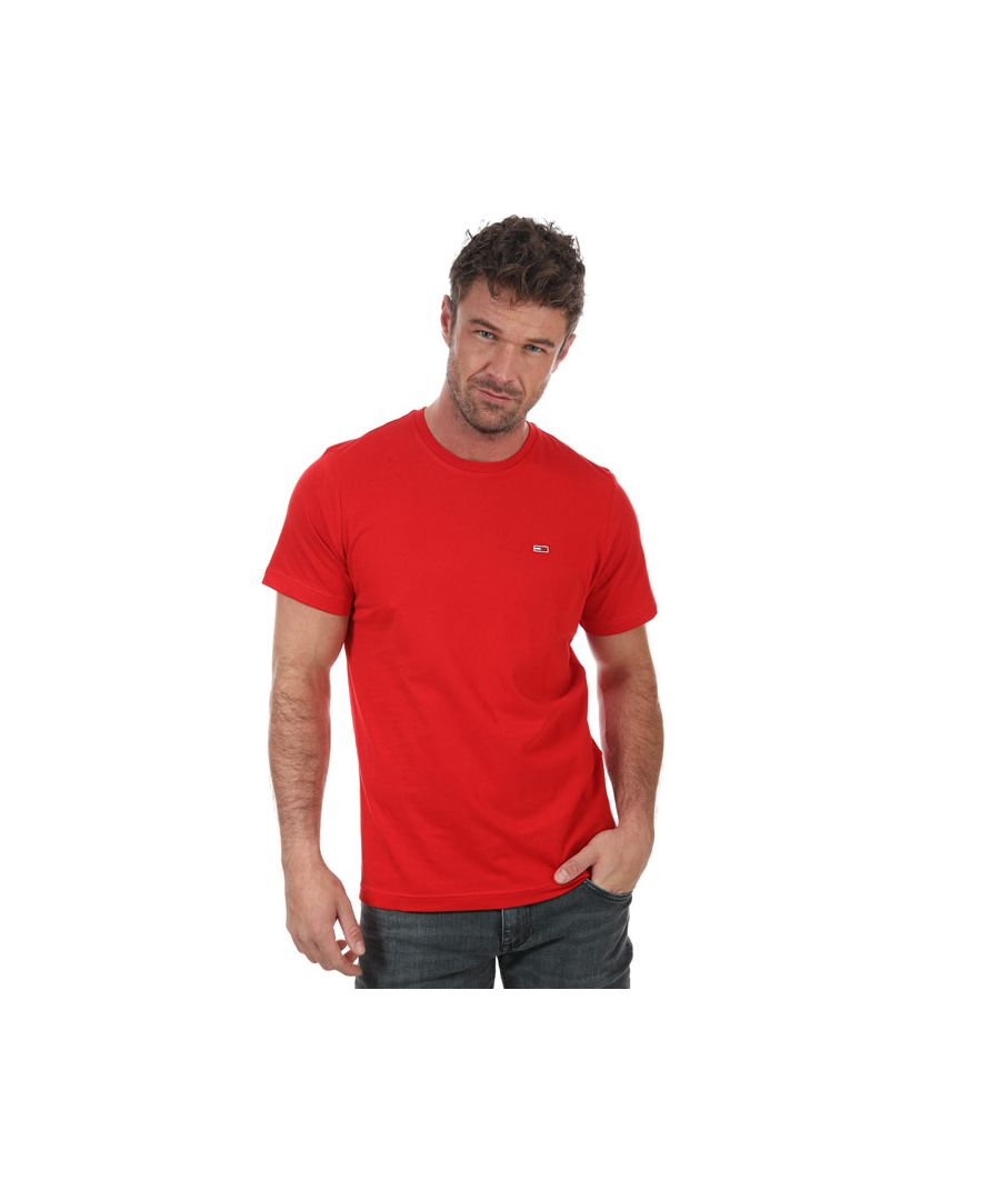 Image for Men's Tommy Hilfiger Classic T-Shirt in Red